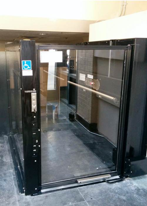 vista 355 wheelchair lift