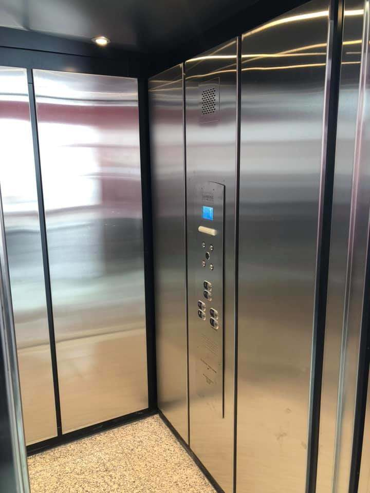 sunpac drive elevator installation photo 5